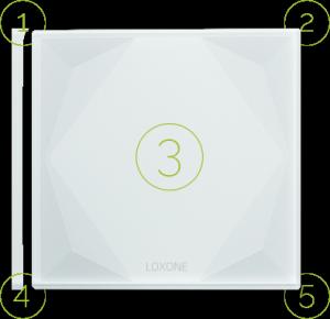 Loxone standard ovládání chytrého domu